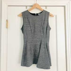 Grey asymmetrical tank